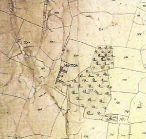 Hinton Tithe Map
